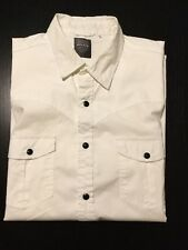Police White Short Sleeve Smart Casual Shirt