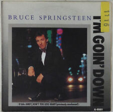 """7"""" Single - Bruce Springsteen - I'm Goin' Down - s631 - washed & cleaned"""