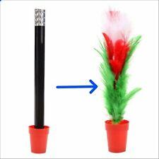 Magic Wand Transformed To Spring Flower Magic Pot Children Magic Trick BAR