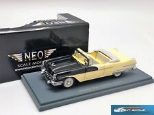 Pontiac Star Chief Convertible Black Yellow 1956 NEO 44060 1:43