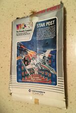 VIC-20 STAR POST Game Cartridge with Box and Manual