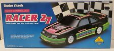 Vintage 1992 Radio Shack Radio-Controlled Turbo Racer 27 Car Excellent Condition