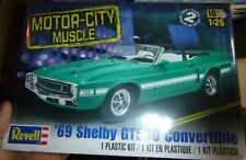 Revell 85-4025 1969 Shelby GT500 Mustang Convertible 1/25 Model Car Mountain FS
