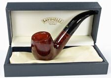 SAVINELLI PUNTO ORO 616 CHUBBY BENT PIPE * NEW in BOX * MIN. 3 YEARS DRYING