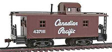Model Power Ho 40' WOOD CABOOSE CANADIAN PACIFIC # 99147 W/ Knuckle Couplers NEW