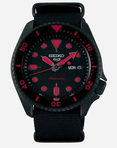 Seiko 5 Gents Automatic Divers Style Sports Watch SRPD83K1 NEW