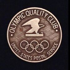 Olympic Pin Badge ~ United States Postal Service ~ USPS ~ Olympic Quality Club