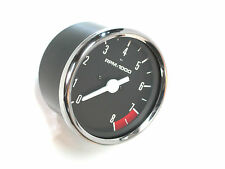 Tach for Triumph Norton BSA tachometer smiths replica black face 8 rpm