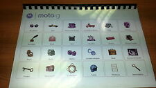 MOTOROLA G PRINTED INSTRUCTION MANUAL USER GUIDE 64 PAGES A5