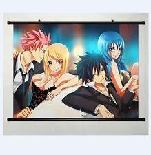 Fairy Tail Natsu Dragnir Home Decor Anime Japanese Poster Wall Scroll  60*40cm