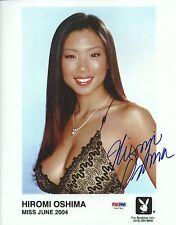 Hiromi Oshima Signed Playboy 8x10 Photo PSA/DNA COA Playmate Headshot Picture 04
