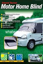 EXTERNAL THERMAL MOTOR HOME BLIND windscreen cover motorhome van