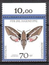BRD 1992 Mi. Nr. 1603 Postfrisch Oberrand TOP!!! (10505)