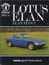 LOTUS ELAN S1 S2 S3 S4 +2 COUPE / CONVERTIBLE 1962 - 1974 REPAIR MANUAL * VGC *