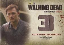 "Walking Dead Season 3 Part 2 - M37 SEAM VARIANT ""The Governor's"" Wardrobe Card"