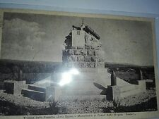 BRIGATA SASSARI(Sardegna)trincea frasche-spedita dal colonnello Barbaro nel 1938