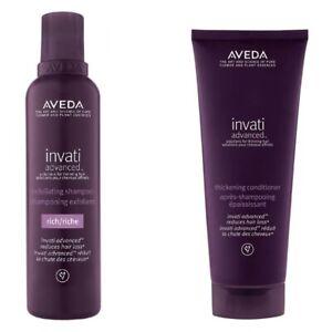 Aveda Invati Advanced™ Exfoliating Shampoo -Rich- Thickening Conditioner Set