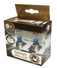 General Electric 58520XNU H7 12V 55W PX26D MegaLight Ultra +130% 58520XNU Set