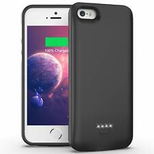 Ennotek iPhone 5S/5/SE Battery Charger Case 4000mAh Power Bank Charging Cover BK