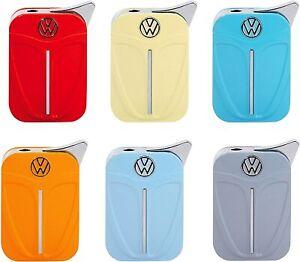 VW FEUERZEUG Käfer Gas Metall in Box 6 Farben Boxter Volkswagen Geschenk 75