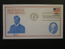 United States 1977 Carter Inauguaration Cover / No 2 Cachet (I) - Z4472