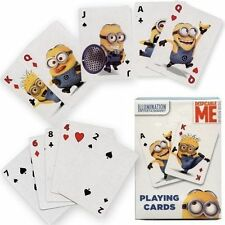 DESPICABLE ME MINION MADE PLAYING CARDS NEW FUN KIDS BIRTHDAY GIFT