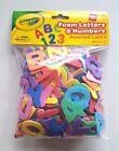Crayola Crafts Wonderfoam Foam Letters  Numbers, Multi-Color, 266 Total Pieces