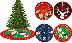 80CM Christmas Tree Skirt Base, Tree Apron