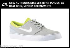 New Authentic Nike SB Stefan Janoski 6Y GS Grey Women's size 7.5