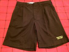 RIVERSIDE MENS Size 36 SABLE KHAKI CHINOS NICE CASUAL SHORTS FRONT PLEATED