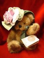 Vintage Boyd's Bears T.J.'s Best Dressed Collection Antoinette DeBearvoire