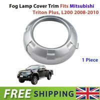1 Pc Fog Lamp Cover Trim For Mitsubishi L200 Triton Pick-up Truck 2005-2009 New