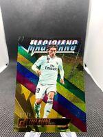 Luka Modric 2018 Panini Donruss Magicians Gold #07/75 Real Madrid Croatia Soccer
