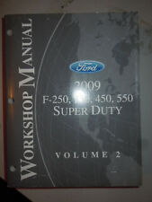 2009 Ford F-250, F-350 Diesel Engine Truck Super Duty Shop Service Manual 1 QZ18