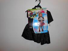 Pint Size Punks Toddler 3T 4T Halloween Costume New NIB Child Girls Punk