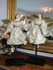 Engel Figuren Set Luxus Antik Barock Deko Statue Edel Engelspaar Putte Skulptur