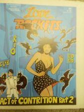 LOVE AND ROCKETS #6 / MAY 1984 / FANTAGRAPHICS / GILBERT & JAIME HERNANDEZ
