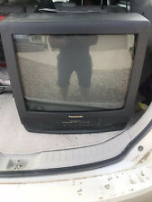 "Panasonic PV-C2060 20"" CRT TV/VCR Combo FM Radio (RETRO GAMING) w/ REMOTE NICE!"