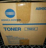 Konica Minolta TN812 Toner Print Cartridge A8H5030 For Bizhub 808 Genuine OEM