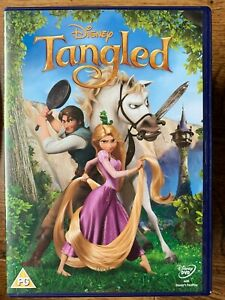 Tangled DVD 2010 Classic Walt Disney 50th Animated Family Film Movie
