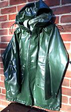 Guy Cotten Cap Coz Rosbras raincoat jacket PVC plastic vinyl waterproof coat, M