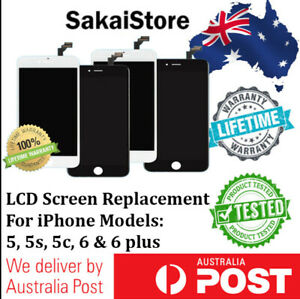 LCD For iPhone 5 5c 5s 6 to 6 Plus Digitizer Touch Screen Replacement Assembly