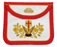 Masonic Regalia, Provincial and District Undress Apron, Lambskin  LI-MRA-0014