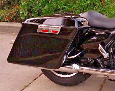 "4"" Extended Fully Assembled Hard Saddlebags for Road King Electra Glide Street"