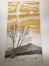 """Diana Weathersby """"Eminent Sky"""" Signed Etching 49/100"""