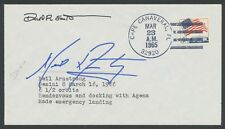 NEIL ARMSTRONG & DAVID SCOTT -- GEMINI 8 -- SIGNED COVER WLM6459