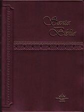 Biblia Económica, Pequeña, Color Marrón, Reina Valera 1960, Vinil -NUEVA-   #07