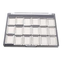 Multi Pans Empty Eyeshadow Blusher Lipstick Aluminum Palette Makeup DIY Tool