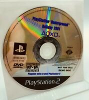 Playstation Underground Holiday 2001 (PS2 Playstation 2) Demo DISC ONLY GOOD CON