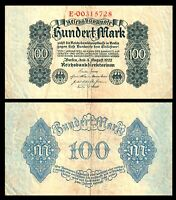 Germany 1922   Weimar Republic 100 MarkP 75